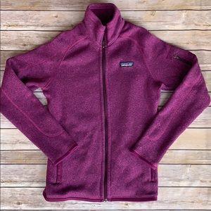 "Patagonia ""better sweater"" zip up jacket"
